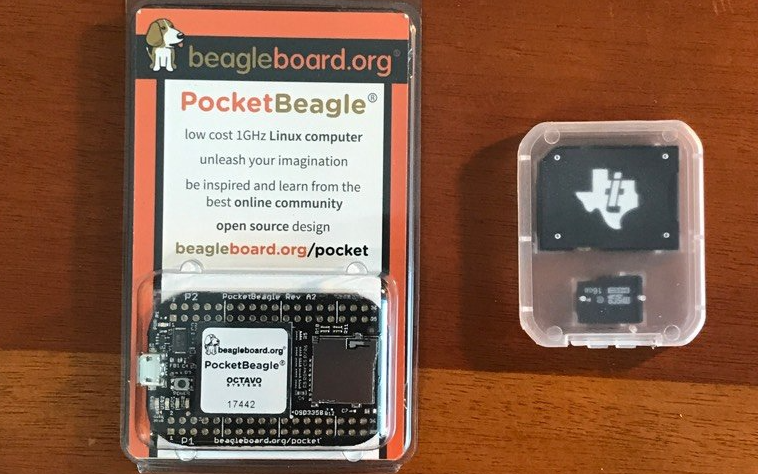 Getting Started with a PocketBeagle