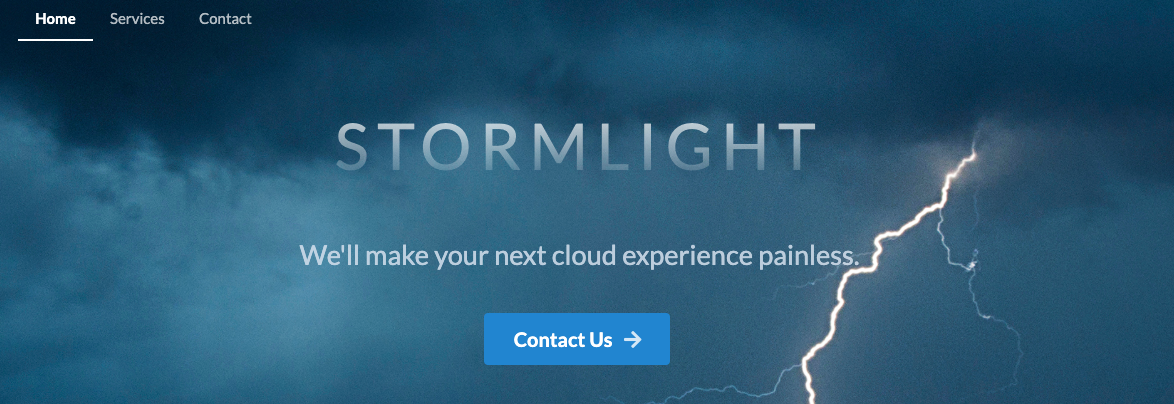 Announcing Stormlight Consulting